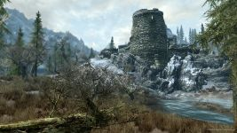 Zerfallene Festung